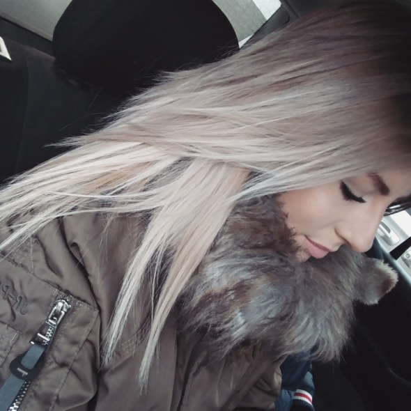Sombre ombre na blondzie