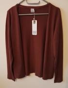 NOWY Sweter rozbinany z Saint Tropez