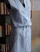 Letnia sukienka tunika w paski...