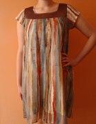 letnia sukienka w paski