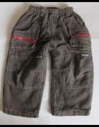 Ciepłe spodnie na zimę roz 98 i 104 ok 2 3 lata