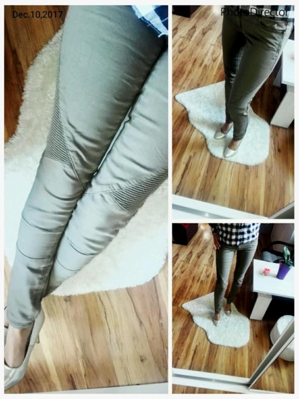 Spodnie khaki S