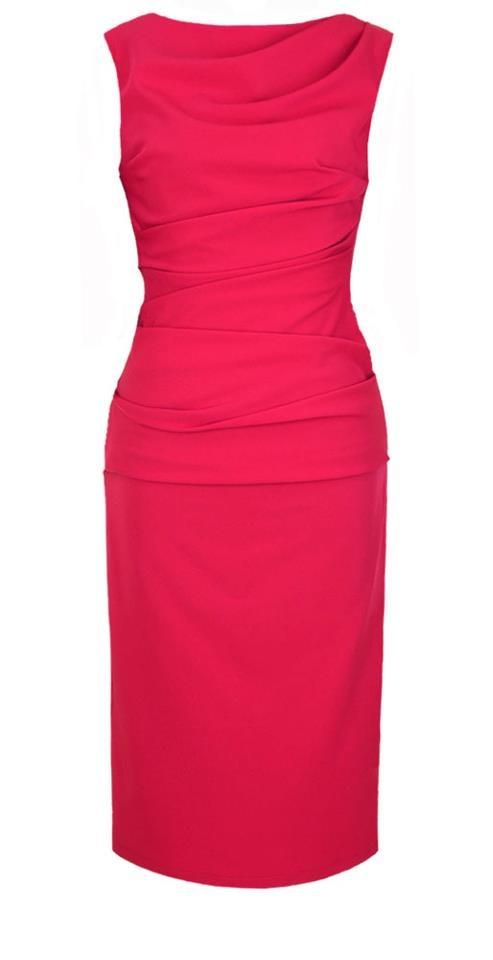 3b295c2188 Genialna prosta wyszczuplająca sukienka Mona 36 w Suknie i sukienki ...