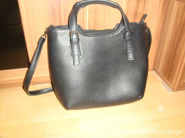 torba czarna pasek do ręki