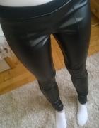 spodnie ze skóry ekologicznej Calzedonia rozmiar S...