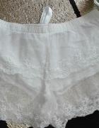 Koronkowe szorty dół od piżamy