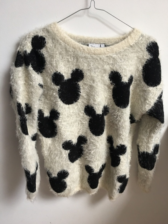 Swetry Mięciutki sweter Myszka Micky Disney