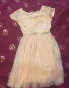 Sukienka różowa elastyczna...