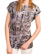 Koszulka Bialcon z motywem zimowym...