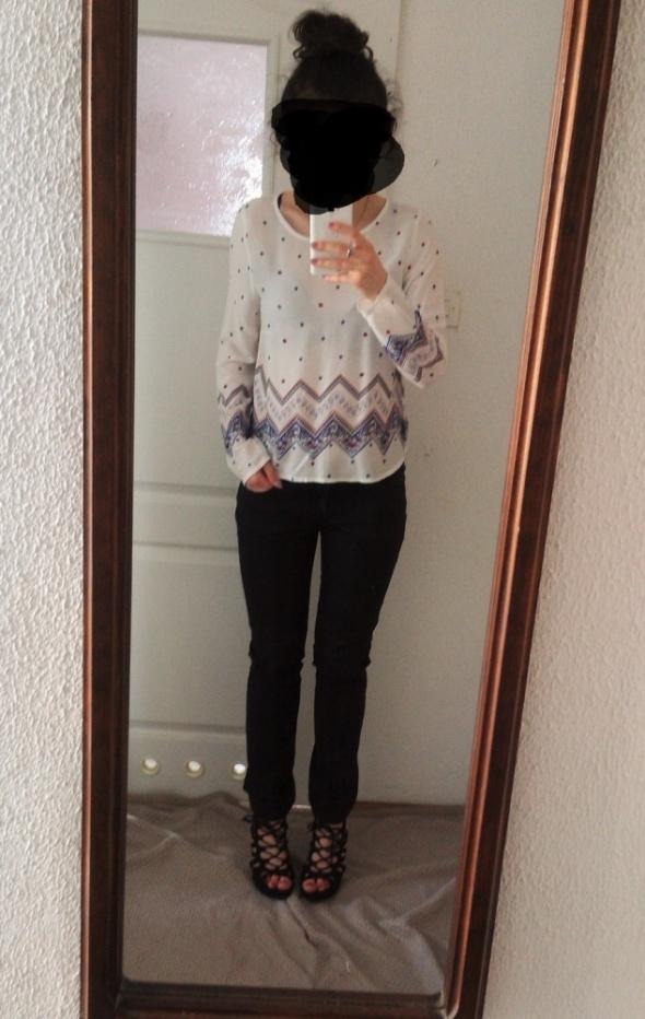 Jeansy czarne spodnie Lee S M klasyczne proste...