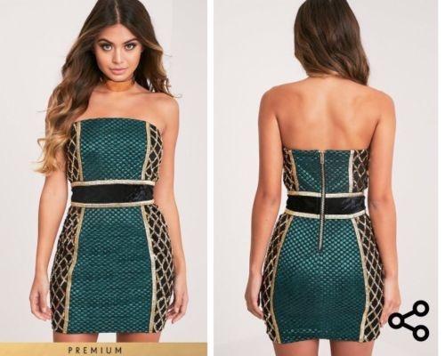 bd546e525b Prittle Litte Thing Piękna Nowa sukienka Sylwester 42 w Suknie i ...