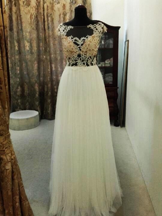Suknie ślubne Rustykalna suknia ślubna Madonna model Telimena