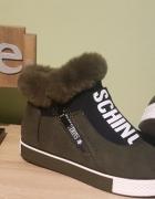 Nowe buty Khaki SCHINO