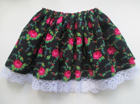 Sukienki i spódniczki Spódnica krakowska dla dziewczynki 3 do 7 lat
