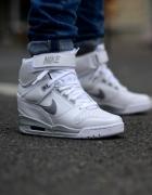 Nike sneakersy białe szare 41...