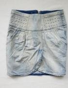 kappahl jeans dżinsowa spódniczka dżety 38 M...
