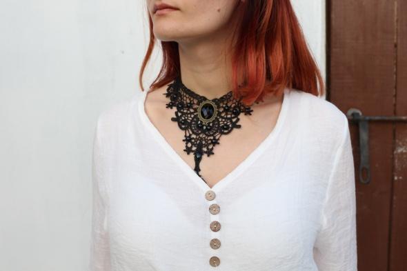 Naszyjnik kolia w stylu gotyckim
