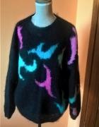 Robiony ręcznie jedyny taki sweter