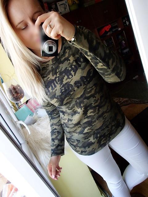 Bluza moro military khaki wojskowa