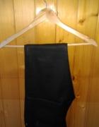 Spodnie rurki skinny Big Star woskowane skórzane czarne nowe...