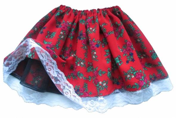 edf7ab0b58 Sukienki i spódniczki Spódnica krakowska dla dziewczynki 3 do 7 lat