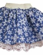 Spódnica dziewczęca damska tiul bożonarodzeniowa r