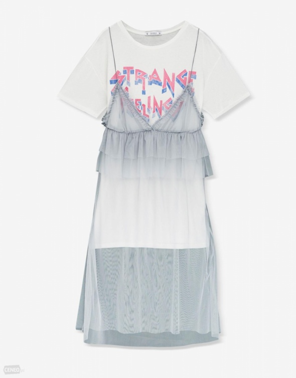 Tiulowa sukienka Pull&Bear...