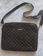 NOWAprawie torba na laptopa pikowana lakier Bershi...