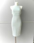 Asos miętowa sukienka dopasowana ala pianka 36...