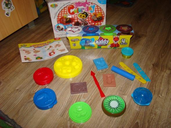 Zabawki Ciastolina