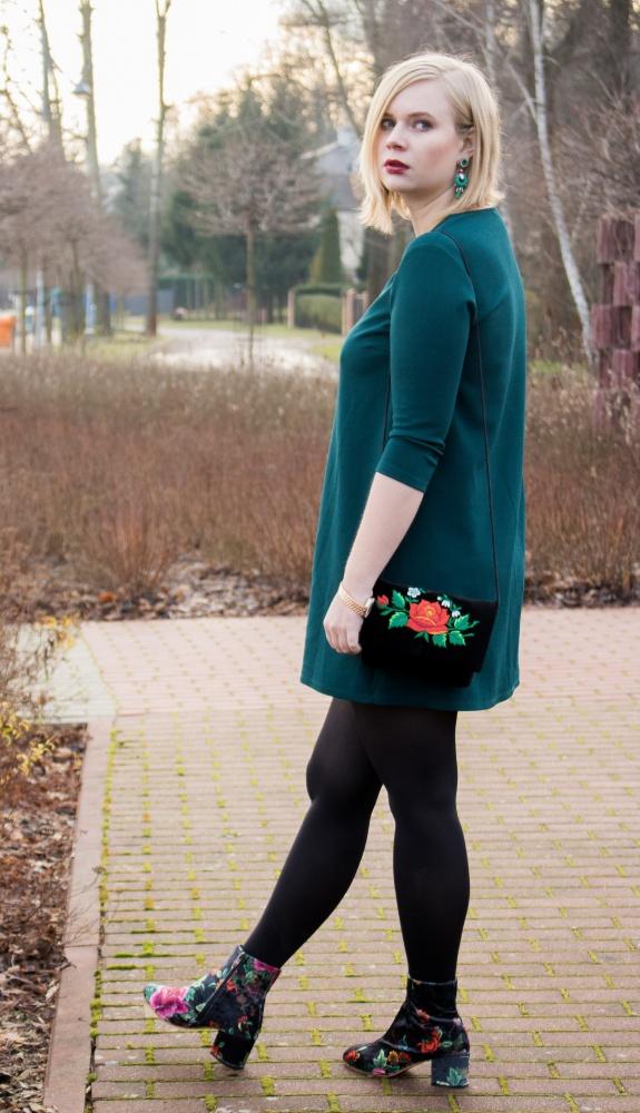 Blogerek botki w kwiaty