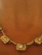 srebrny naszyjnik lancuszek z cyrkoniami