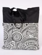 wzór torba siatka ręcznie szyta