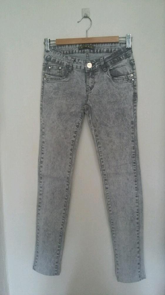 Spodnie szare spodnie