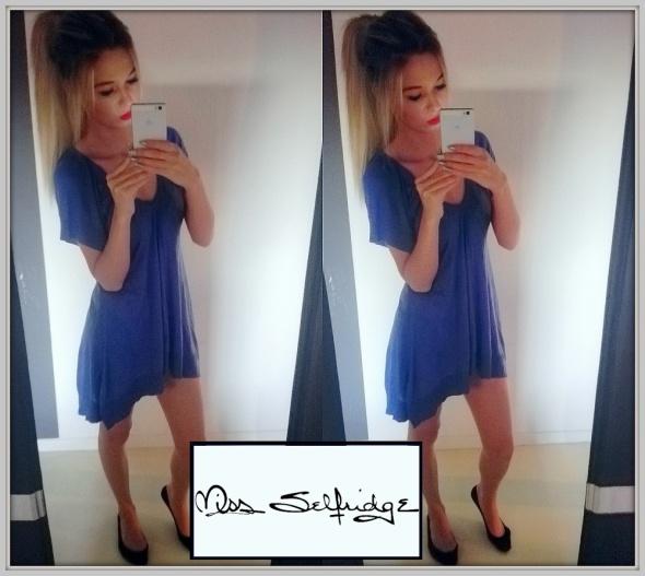 Suknie i sukienki MISS SELFRIDGE Tunika Sukienka Sweter Asymetryczna