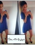 MISS SELFRIDGE Tunika Sukienka Sweter Asymetryczna