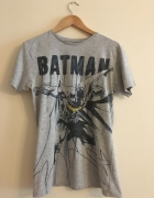 Tshirt Bluzka Koszulka Batman Szara Nadruk DC Comics 38 M