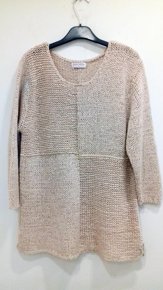 Swetry różowy sweter Bonmarche S L