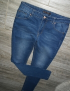 Gina Tricot perfect jeans ciemne jeansy r 40 42...