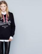 Czarna bluza Pull&Bear rozmiar S