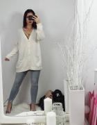 Długi sweter H&M...