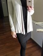 Beżowy sweterek ZARA M