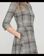 Sukienka w kratkę RESERVED rozmiar 36