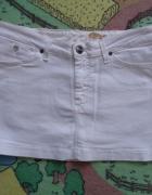 Śliczna mini biała spódniczka WRANGLER roz W 30