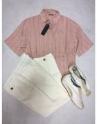 Bluzka vintage Christian Dior z dodatkami