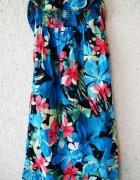 george letnia sukienka wzorzysta w kwiaty rozmiar 38...
