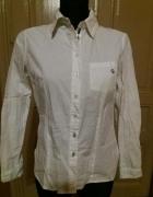 Koszula biała z łatkami