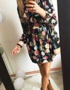 Sukienka Damska w kwiaty M