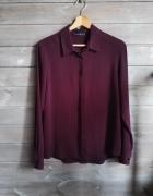 Koszula fioletowa buraczkowa luźna Atmosphere r L