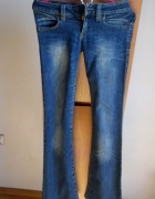 jeansy bidorówki big star dark XS S